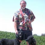 Gary Eberle with Cabernet and Syrah